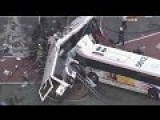 New Jersey Transit Bus Collision, Two Buses Crash In An Intersection In Newark