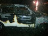 New Kia Soul Entirely Destroyed By Fire After Small Collision