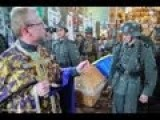 Nazism In Ukraine! Public Funeral Of Ukrainian SS Nazis Killed In WW2