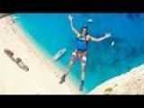 Navagio Beach Base Jumps By Chris Douggs McDougall!
