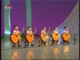 N. Korean Children Playing Guitar