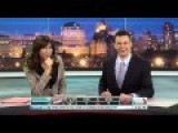 Newscaster Gives Advice On Teething Pain.... And A Bonus