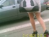 New Fashion In Russia To Take Video Of Girls On Car DVR?