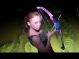 Night Bowfishing In Louisiana