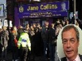 Nigel Farage Trapped In Ukip's Rotherham Office For Two Hours By Chanting Protestors
