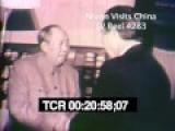 Nixon Visits China And Meets Mao