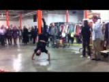 NYPD Cop Meets A Street Performer And Breakdances Like A Master!