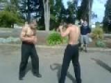 NZ Lads Punching On