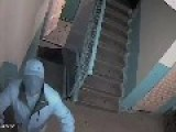 Neighbor Tries To Destroy CCTV Cam
