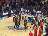 New Zealand's Haka V USA - Amazing Moment - 2014 FIBA Basketball World Cup