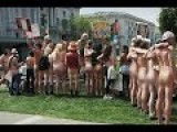 Nude Protesters Bare All In The Streets Of San Francisco