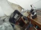 Norwegian Sailor Loses Control Amid Strong Winds