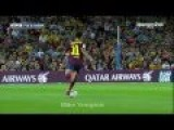 Neymar Amazing Touchline Back-heel Skill! Barcelona Vs Sevilla HD