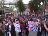 Nagorno-Karabakh: Armenians Protest Against Russian Arms Sales