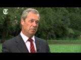 Nigel Farage On Illegal Immigration Crisis In Calais