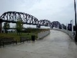 New Walking Bridge In Louisville, KY Made From An Old Train Bridge