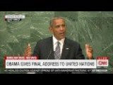 Obama: Submit To World Government