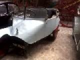 Odd Looking Three Wheeled Car