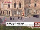 Ottawa Shooting: Dramatic Events Caught On Video