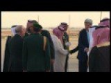 Obama Arrives In Saudi Arabia
