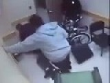 Officer Throws Hands At A Handicapped Man