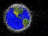 Orbital Space Junk In Motion