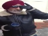 Old Indian Dude Gets Hyped And Sings G.T. Road Te