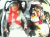 Old Lady Terrified By Race Car Ride