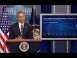Obama Speaks On The Economy Takes Questions From Reporters