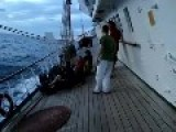 On The Way, On Board The Polish Sail Training Ship