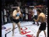 Old Badass Iranian Guy Fighting In Mma Match
