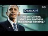 Obama On Hillary Clinton 2008 Add