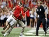 OUCH: Watch Ohio State Coach Body-Slam Crazed Fan Who Runs Onto Field