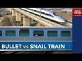 Overview Of The Chinese Bullet Train Vs Shatabdi Express