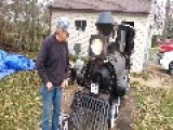 Old Timer Creates His Dream BBQ Smoker