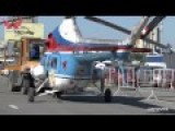 Old-Style Russian Helicopter Close Look !