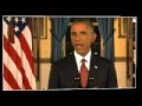 Obama Addresses The Nation And Will Hunt Terrorists That Threaten Sep 11