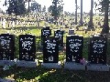 Oakland Hell Angels Grave Site At Evergreen Cemetery In Oakland, CA
