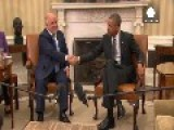 Obama Pledges Extra Humanitarian Aid After Meeting Iraqi PM