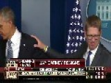 Obama Blows A Goodbye Kiss To Jay Carney