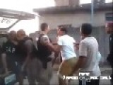 Only In Brazil: Residents Try To Stop The Arrest Of Drug Dealer