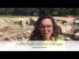 Oct. 3, 2016 Footage Of Ancient Bathhouse Found In Guys Backyard