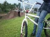 Overcast Ramp Jump Fail