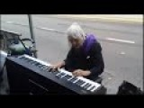 Old Lady Started Playing Piano On The Street, And She Surprised Everyone!!!