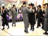 Orthodox Jewish Men Dance