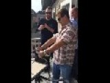 Opening A Champagne Bottle Fail