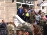 Odessa: Nationalists Attack Office Of Kador Construction Firm, Fight Security While Police Look On