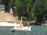 Outerlimits Catamaran Goes Airborne