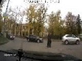 Ouch! STUPID Man! CROSSING STREET Or SUICIDE? Leave A Comment