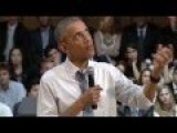 Obama At Argentina Town Hall Not Hopeful Of Peace In Israel